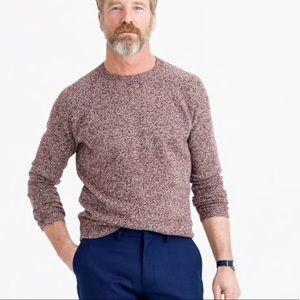 J.Crew fine lambs wool marled sweater